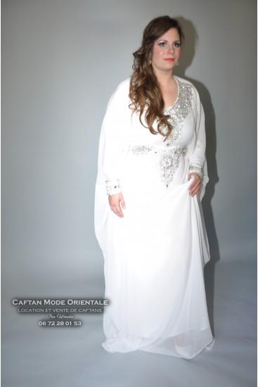 Robe Dubai - blanche 1 Location