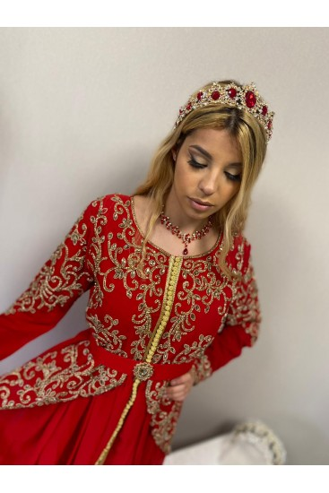 Caftan So'Chic 1- Location Rouge